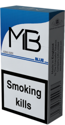 MB King Size Blue