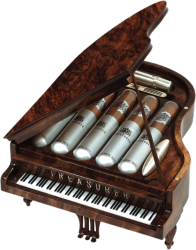 Piano Humidor for 5's