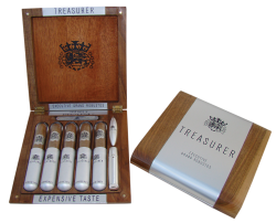 Travel cigar box